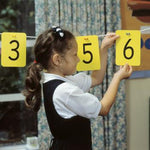 Number Washing Line, Plastic Numbers, Set