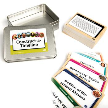 Construct A Timeline Activity Cards, Age 7-11, Set