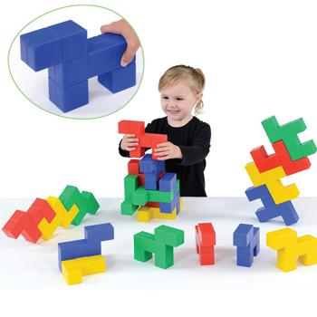 Doggy Blocks, Age 1+, Set of 20 pieces