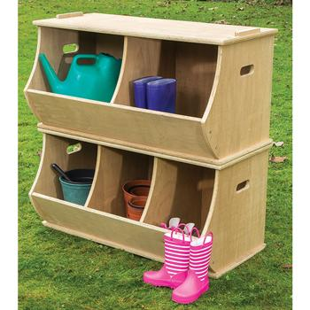 Duraplay Outdoor Range, Double and Triple Storage, Set