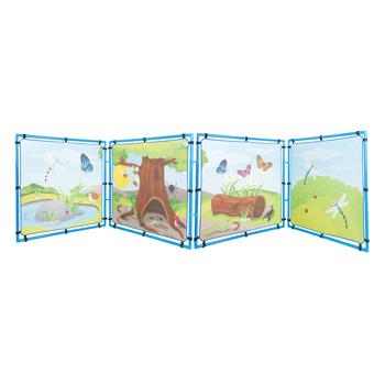 Learning Dens, Mini Beasts, Set of 4