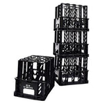 Milk Crates, Set of 10