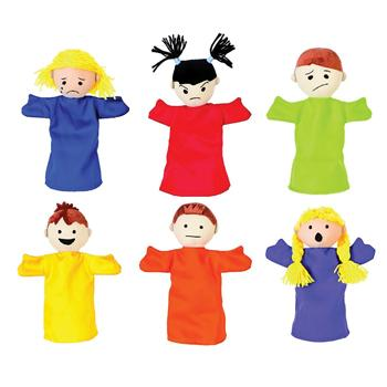 Emotional Puppets, Set of 6