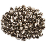 Jingle Bells, Silver, Pack of 70