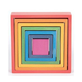Rainbow Architect, Squares, Set
