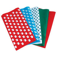 Fabric Squares, Festive Felts, 300 x 300mm, Pack of 10