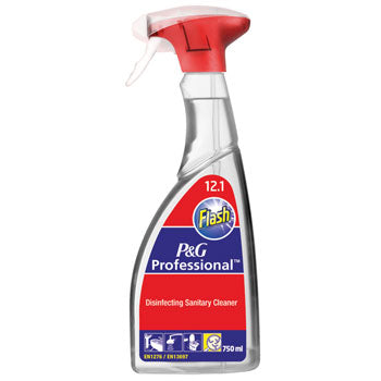 Flash Disinfecting Sanitary Cleaner, Case of 6 x 750ml