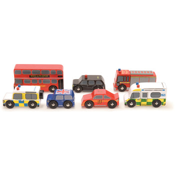 London Vehicles, Age 3+, Set of 7