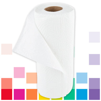 Smartbuy, Kitchen Roll, 2 Ply, Case of 24 Rolls