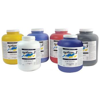 Paint, Acrylic, Daler Rowney System 3, Large Tubs, 2.25 litres