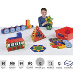 Polydron, Super Value Set, Pack of 450 Pieces