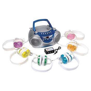Headphone Sets, With Cd/Radio/Cassette Player, Set