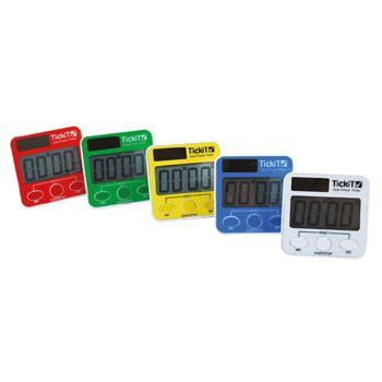 Electronic Timer, Dual Timers, Set of 5