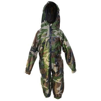 All In One Rainsuit, Camo Green