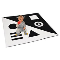 Black & White Range, Nursery Mat, Age 12 Mths+, Each