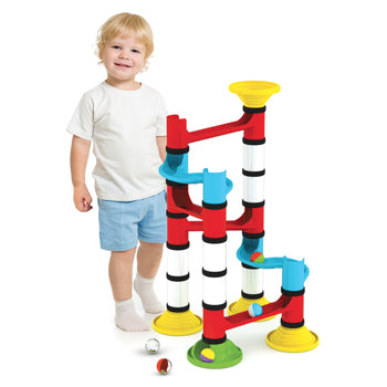 Junior Marble Run, Age 18M+, Pack of 45 Pieces