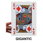 Cards - Plastic Coated, Gigantic, 205 x 280mm, Pack of 52
