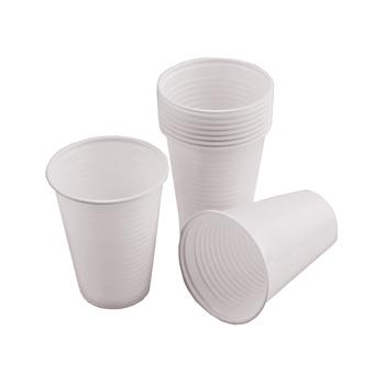 Cold Drinks Cups, White, Tall, 7Oz (200ml)