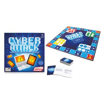 Cyber Attack Board Game, Age 6+, Each