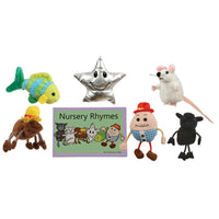 Puppet Sets, Nursery Rhymes Story Set, Set of 6