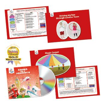 Music Activity Packs, Going On A Journey, Set