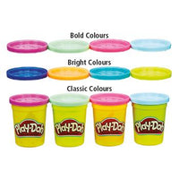 Soft Modelling Dough, Play-Doh Starter Pack, Age 2+, Pack of 4 x 112G