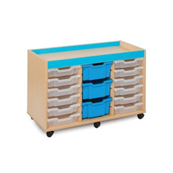 Bubblegum Range, Mobile Tray Units, 15 Variety Tray Unit