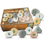 Alphabet, Pebbles - Word Building, Set of 50