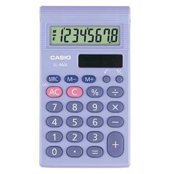 General School, Calculators, Casio SL-460L-S-UH, Each