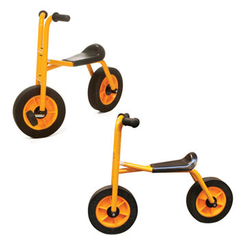 Play Vehicles Rabo, Bundle Deal, Two Wheeled Bike & Runner, Age 3-7, Set of 2