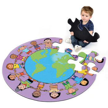 Floor Mat Puzzles, Global Friends, Each