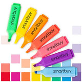 Highlighters, Smartbuy, Marker Style, Pack of 10, Single Colour, Pack of 10