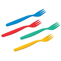 Polycarbonate Ware, Standard, Small Forks, Pack of 10