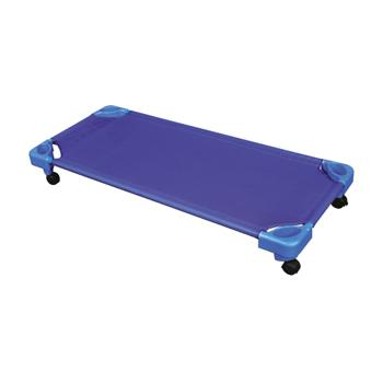 Single Blue Cot, Blue, Each