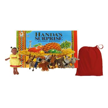 Literacy Story Packs, Handa's Surprise, Set
