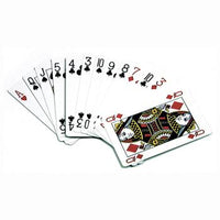 Cards - Plastic Coated, Standard Size, 58 x 88mm, Playing Cards, Pack of 52