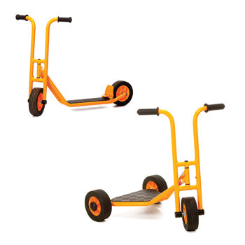 Play Vehicles Rabo, Bundle Deal, Two & Three Wheeled Scooters, Age 1-7, Set of 2