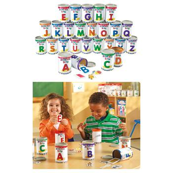 Sorting Games, Alphabet Soup Sorters, Age 3+, Set of 26