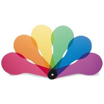 Colour Paddles, Age 3+, Pack of 18