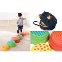 Children's Coordination, Weplay, Rainbow River Stone, Age 2+, Set