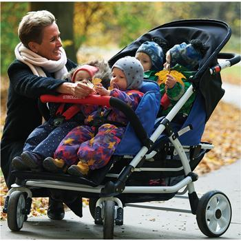 Rain Cover for Four Seat Stroller, Each