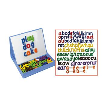 Phonics (Junior Learning), Rainbow Phonics, Magnetic Letters Set, Age 5-7, Set