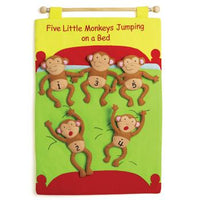 Counting, Five Little Monkeys Chart, Each