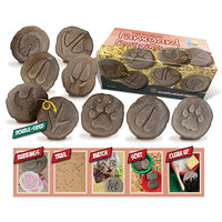 Let's Investigate Farmyard Footprints, Age 2+, Set of 8