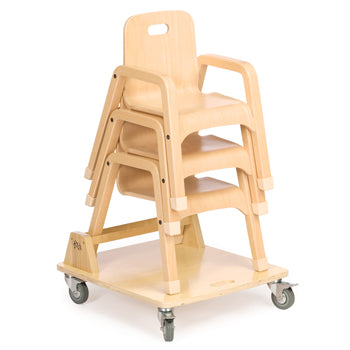Children's Furniture, Childshape Chairs, Chair Dolly (J413)