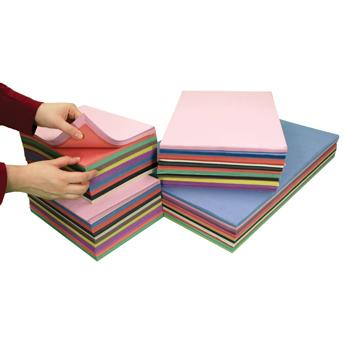 Sugar Paper, Bumper Value Assorted Packs, Value Stack, Pack of 2750 Sheets