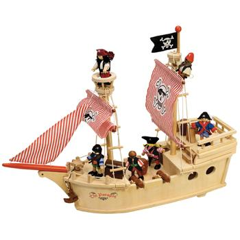 Pirate Ship, Set of 25 Pieces