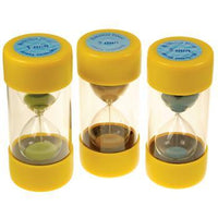 Sand Timers, Large Ballotini, Set of 3