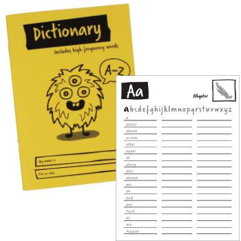 A5 Primary Dictionary, Pack of 30