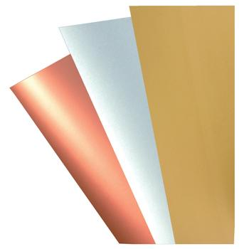 Metallic Card, Gold, Pack of 20 Sheets, 225gsm